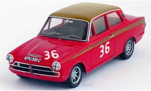 Ford Lotus 1/43 Trofeu Cortina RHD No.36 Alan Mann Racing Snetterton 1966 J.Stewart miniature