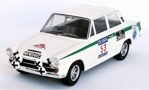 Ford Lotus 1/43 Trofeu Cortina RHD No.53 1000 Lakes Rally 1966 J.Clark/B.Melia