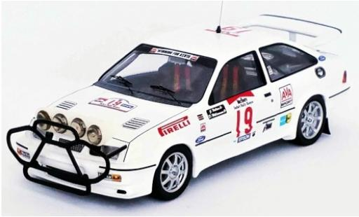Ford Sierra 1/43 Trofeu RS Cosworth No.19 Rallye WM Safari Rallye 1987 J.Hellier/D.Williamson miniature