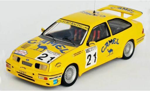 Ford Sierra 1/43 Trofeu RS Cosworth No.21 Euro Racing Camel Boucles de Spa 1989 Y.Bodson/L.Bouchat