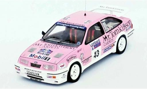 Ford Sierra 1/43 Trofeu RS Cosworth RHD No.43 Mr. Tomkinson Rallye WM RAC Rallye 1988 P.Collins/B.Thomas diecast model cars
