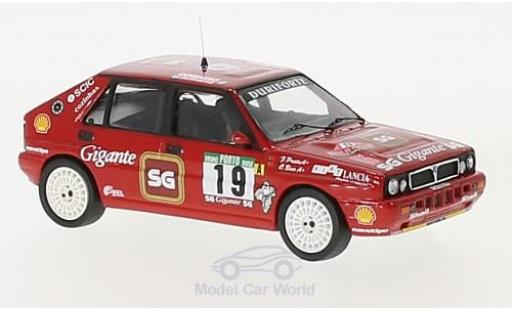Lancia Delta 1/43 Trofeu Integrale 16V No.19 Rallye Portugal 1990 C.Bica/F.Prata miniature