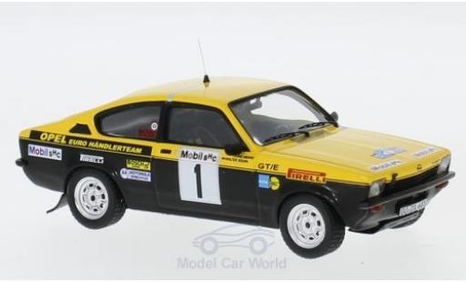 Opel Kadett 1/43 Trofeu C GT/E No.1 Euro Händlerteam Rallye DM Westfalen-Lippe Rallye 1977 W.Röhrl/H.Menne diecast