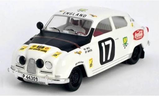 Saab 96 1/43 Trofeu No.17 East African Safari Rally 14 P.Moss-Carlsson/J.Mayers miniature
