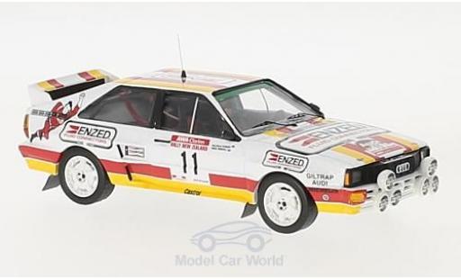 Audi Quattro 1/43 Trofeu/Scala quattro A2 No.11 Rallye New Zealand 1985 M.Stewart/D.Parkhill miniature