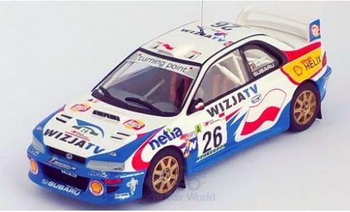 Subaru Impreza 1/43 Trofeu WRC No.26 Rallye WM Rally Portugal 2000 K.Holowczyc/J.M.Fortin miniature
