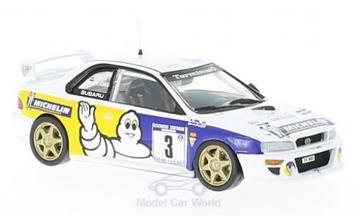 Subaru Impreza WRC 1/43 Trofeu No.3 Michelin Tulpenrallye 1998 B. D Jong/T. Hillen miniature