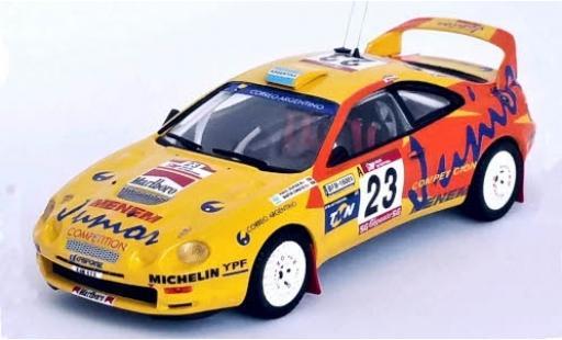 Toyota Celica 1/43 Trofeu GT Four No.23 Tomaz Auto Rallye WM Rally Portugal 1997 R.Sufan/M.Christie diecast model cars