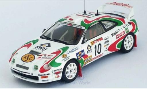 Toyota Celica 1/43 Trofeu (ST205) GT Four No.10 Rallye WM Rally Portugal 1997 M.Grönholm/T.Rautiainen miniature