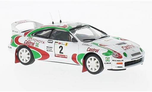 Toyota Celica 1/43 Trofeu ST205 No.2 Rallye Portugal 1995 J.Kankkunen/N.Grist modellino in miniatura