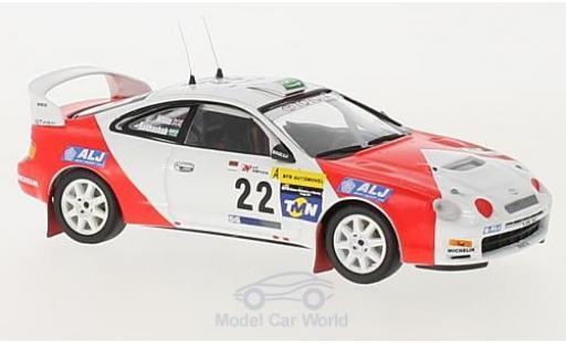 Toyota Celica 1/43 Trofeu ST205 No.22 Marlboro Rallye WM Rallye Portugal 1998 mit Decals A.Bakhashab/B.Willis