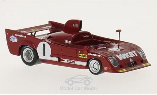 Alfa Romeo T33 1/18 TrueScale Miniatures TT 12 RHD No.1 WKRT 1000km Spa 1975 J.Ickx/A.Merzario miniature