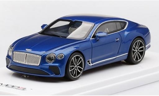 Bentley Continental 1/43 TrueScale Miniatures GT metallise blue 2018 diecast model cars