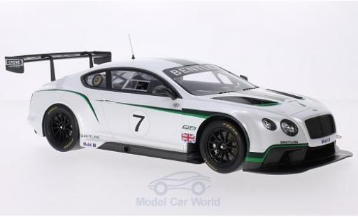 Bentley Continental T 1/18 TrueScale Miniatures GT3 No.7 Goodwood Festival of Speed 2013 miniatura