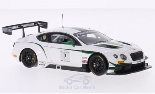 Bentley Continental T 1/43 TrueScale Miniatures G3 No.7 M-Sport Blancpain G Series Silverstone 2014 G.Smith/A.Meyrick/S.Kane diecast model cars