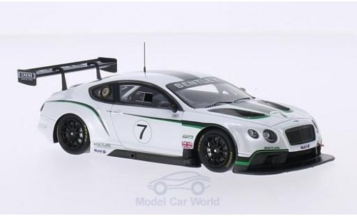 Bentley Continental T 1/43 TrueScale Miniatures GT3 RHD No.7 Festival of Speed Goodwood 2013 miniatura
