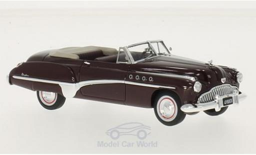 Buick Roadmaster 1/43 TrueScale Miniatures Convertible rouge 1949 miniature