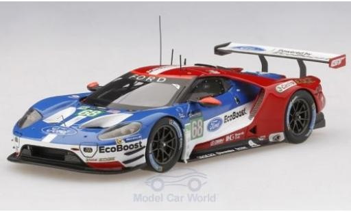 Ford GT 1/43 TrueScale Miniatures No.68 Chip Ganassi Team USA 24h Le Mans 2017 J.Hand/D.Müller/T.Kanaan miniature