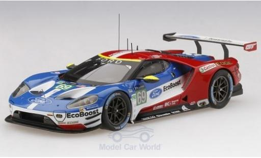 Ford GT 1/43 TrueScale Miniatures No.69 Chip Ganassi Team USA 24h Le Mans 2017 R.Briscoe/S.Dixon/R.Westbrook diecast