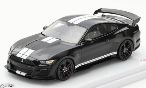 Ford Mustang 1/43 TrueScale Miniatures Shelby GT500 black/white diecast model cars