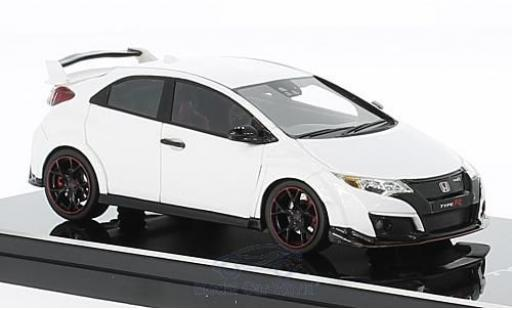 Honda Civic Type R 1/43 TrueScale Miniatures white RHD 2015 diecast model cars