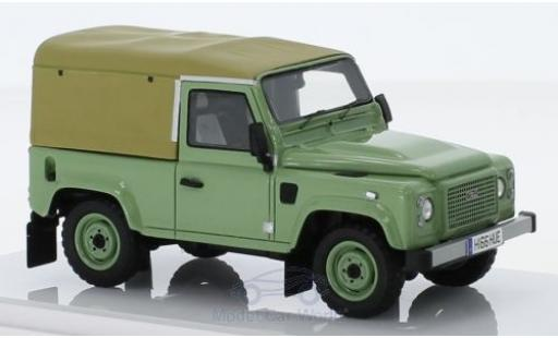 Land Rover Defender 1/18 TrueScale Miniatures 90 verde RHD 2015 Heritage Edition The last miniatura