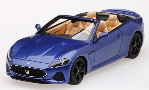 Maserati GranCabrio 1/43 TrueScale Miniatures metallise bleue 2019