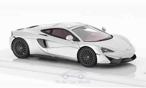 McLaren 570 1/43 TrueScale Miniatures GT grise 2016 miniature