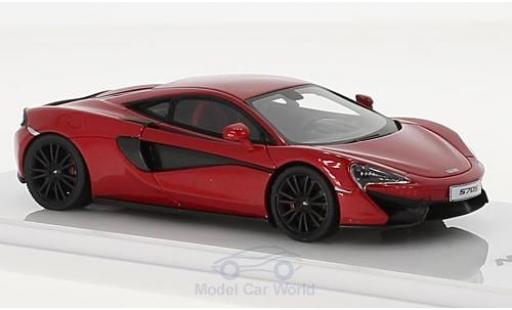 McLaren 570 1/43 TrueScale Miniatures S metallise rouge miniature