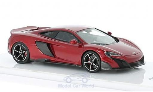 McLaren 675 1/43 TrueScale Miniatures LT metallise red 2015 diecast model cars