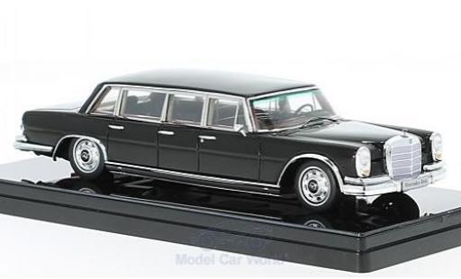 Mercedes 600 1/43 TrueScale Miniatures Pullman noire 1964 6-door miniature