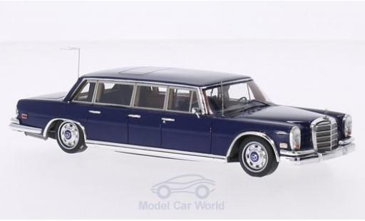 Mercedes 600 1/43 TrueScale Miniatures (W100) Pullman blue 1969 Elvis Presley diecast model cars