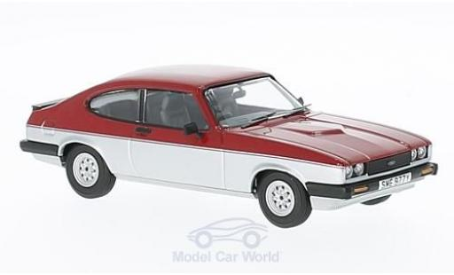 Ford Capri 1/43 Vanguards MK3 1.6 Calypso red/grey RHD diecast model cars