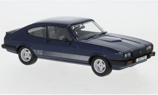 Ford Capri 1/43 Vanguards MkIII 2.0 S metallise bleue RHD 1978 miniature
