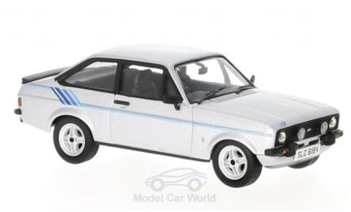 Ford Escort MKI 1/43 Vanguards MKII 1.6 Harrier grise/Dekor RHD miniature