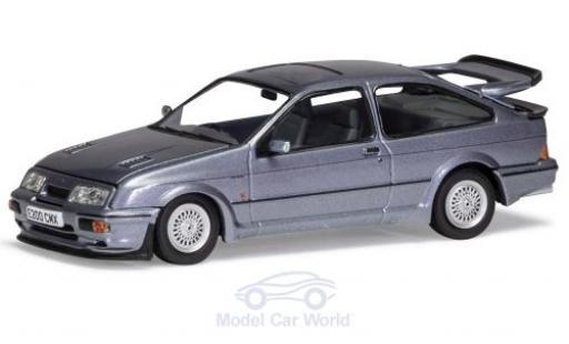 Ford Sierra 1/43 Vanguards RS500 Cosworth metallise bleue RHD miniature