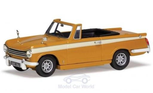 Triumph Herald 1/43 Vanguards 13/60 Convertible marron RHD miniature
