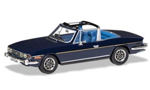 Triumph Stag 1/43 Vanguards Mk2 bleue RHD miniature