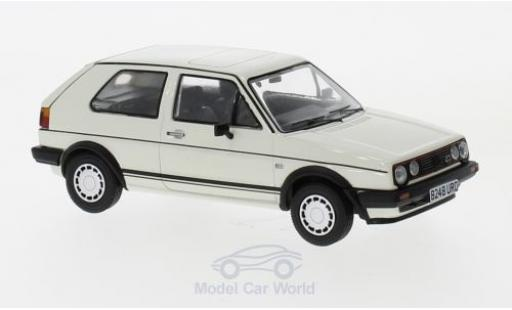 Volkswagen Golf V 1/43 Vanguards Mk2 GTI blanche RHD miniature