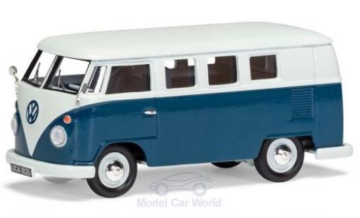 Volkswagen T1 1/43 Vanguards (Typ 2) Camper blanche/bleue RHD miniature