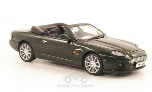 Aston Martin DB7 1/43 Vitesse Vantage Volante verte Volan 1994 miniature