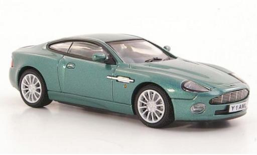 Aston Martin Vanquish 1/43 Vitesse metallise verte RHD miniature