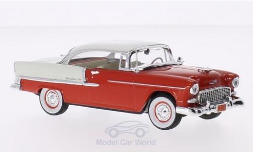 Chevrolet Bel Air 1/43 Vitesse Hardtop rouge/hellbeige 1955