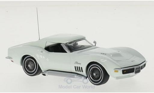 Chevrolet Corvette C3 1/43 Vitesse  Coupe white 1969 diecast model cars