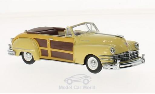 Chrysler Town & Country 1/43 Vitesse jaune miniature