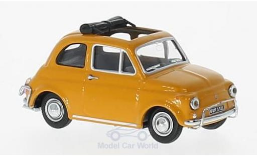 Fiat 500 L 1/43 Vitesse yellow 1968 diecast model cars