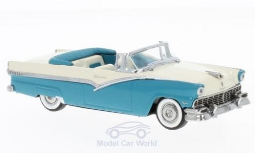 Ford Fairlane 1956 1/43 Vitesse Convertible turquoise/blanche miniature