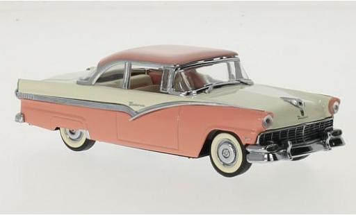 Ford Fairlane 1/43 Vitesse HardTop rose/blanche 1956 miniature