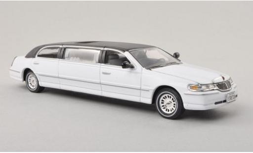Lincoln Town Car 1/43 Vitesse blanche/noire 2000 miniature