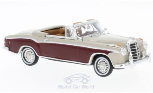 Mercedes 220 SE 1/43 Vitesse Cabriolet beige/rouge 1958 miniature